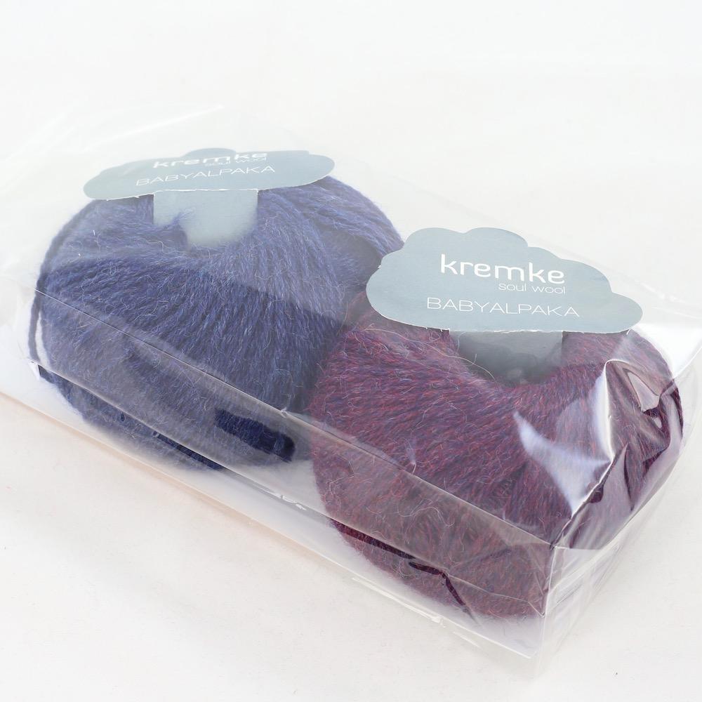 Kremke Soul Wool Babyalpaka Kit Loop