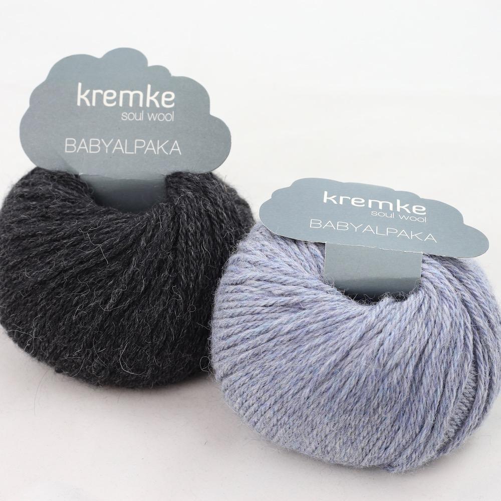 Kremke Soul Wool Babyalpaka Kit Loop Jeans Anthrazit