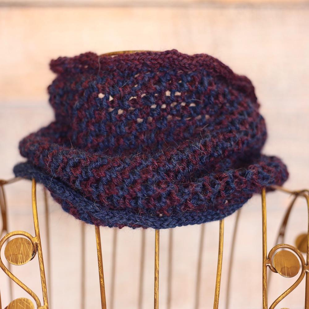 Kremke Soul Wool Babyalpaka Kit Loop  Blueberry