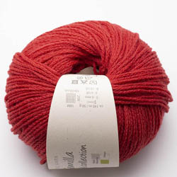 BC Garn Semilla cablé GOTS Haute Red