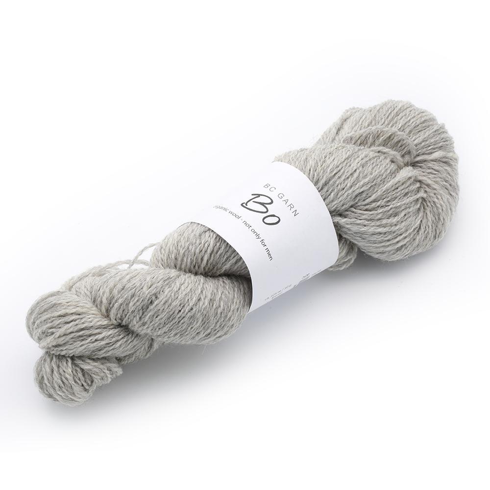 BC Garn Bo - organic wool not only for men Silber