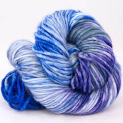 Cowgirl Blues Aran Single Farbverlauf Auslauffarben CobaltAirforceBlueberryIcedberry
