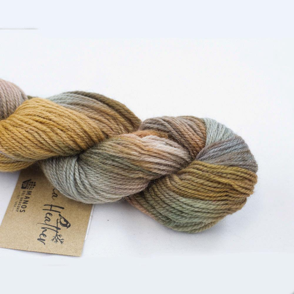 Manos del Uruguay Alpaca Heather Farbverlauf Teddy Bear