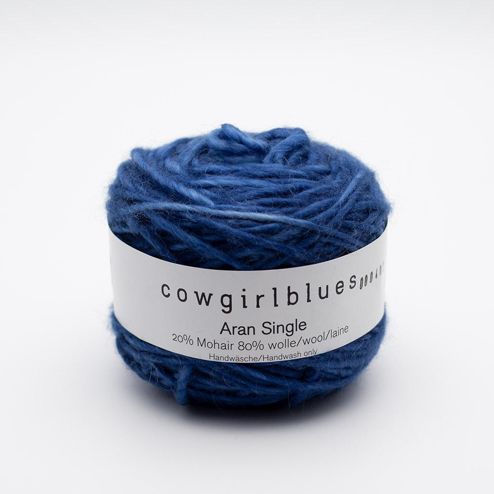 Cowgirl Blues Aran Single (100g) solids Auslauffarben