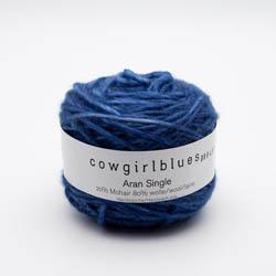 Cowgirl Blues Aran Single solids Auslauffarben