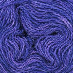 Cowgirl Blues Aran Single solids Auslauffarben Blueberry