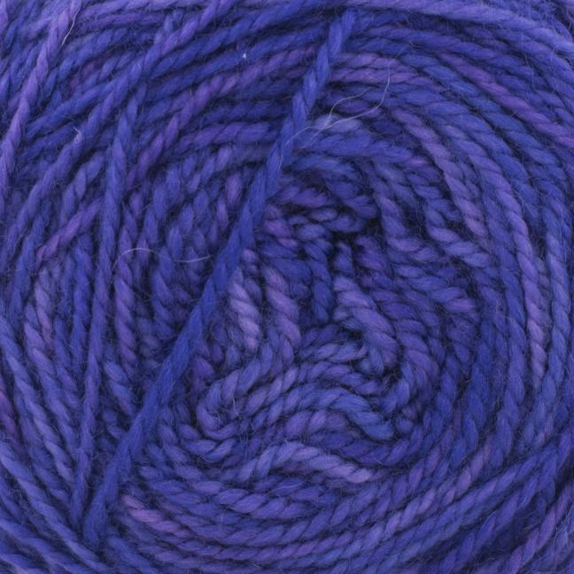 Cowgirl Blues Merino DK solids Auslauffarben Blueberry
