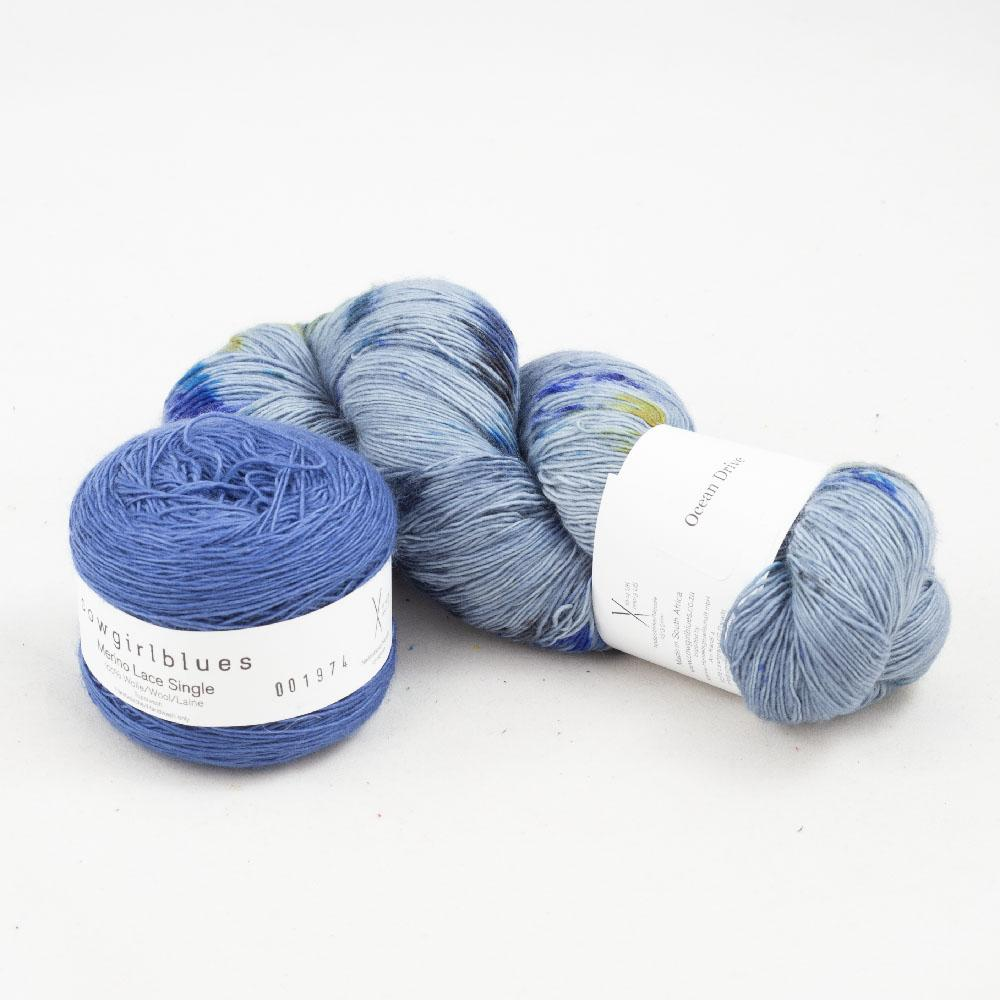 Cowgirl Blues Merino Lace Single Garnpaket 150g