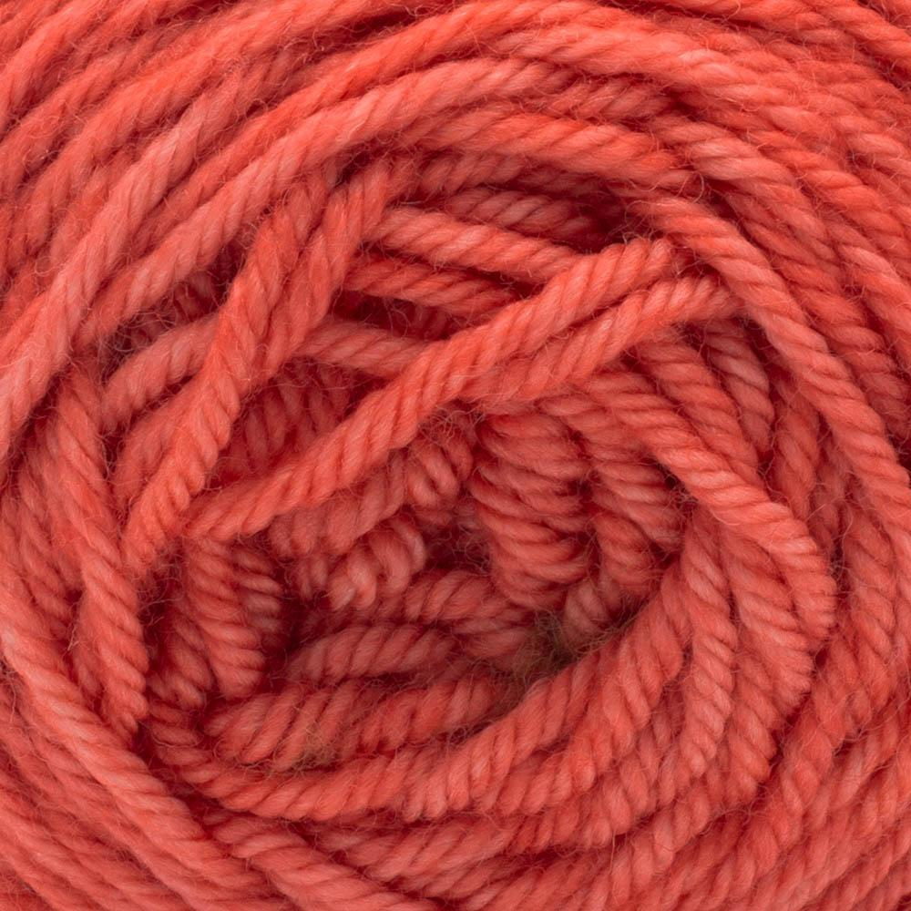 Cowgirl Blues Merino DK solids 100g Ruby Grapefruit