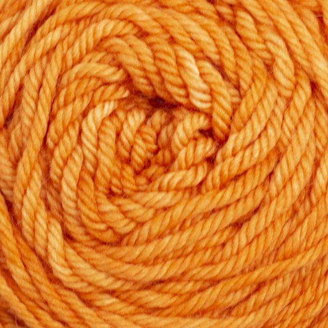 Cowgirl Blues Merino DK solids 100g Carrot Juice