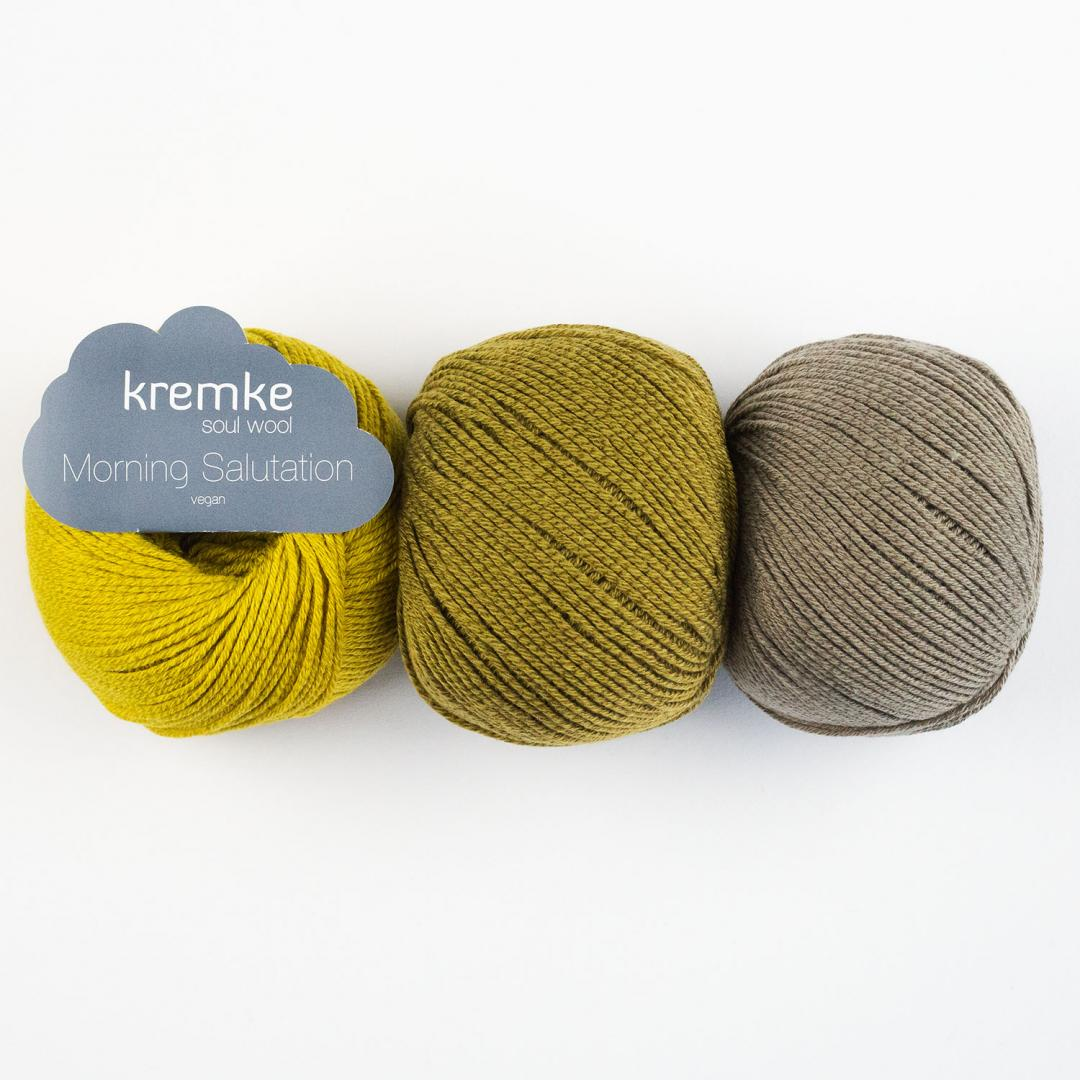 Kremke Soul Wool Morning Salutation vegan  Weiß