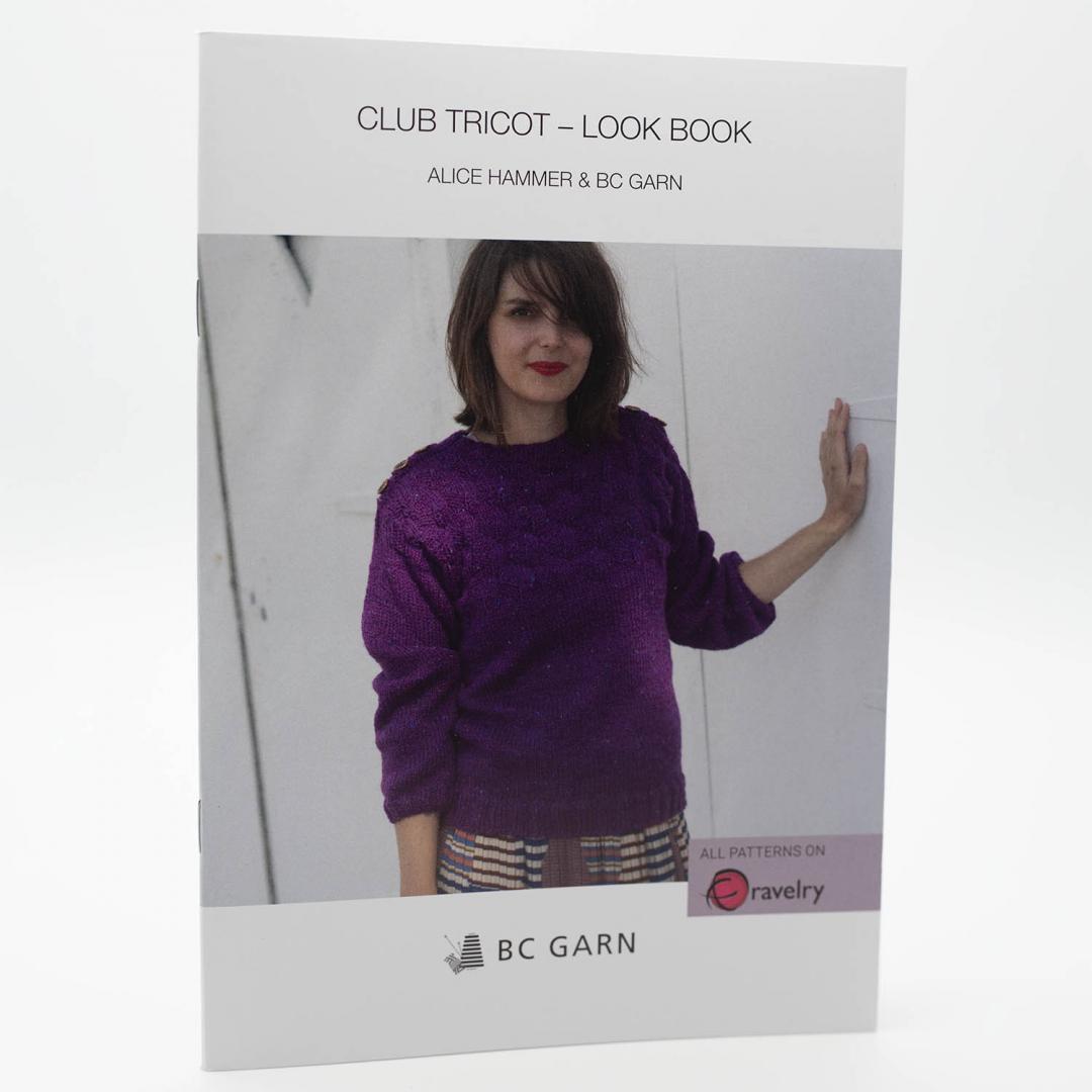 BC Garn Look Book-Club Tricot   Französisch/Englisch