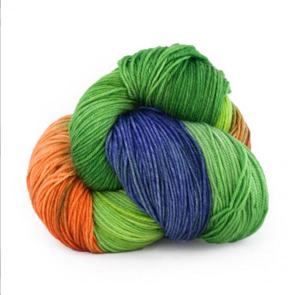 Manos del Uruguay Alegria handgefärbt 100g Auslauffarben