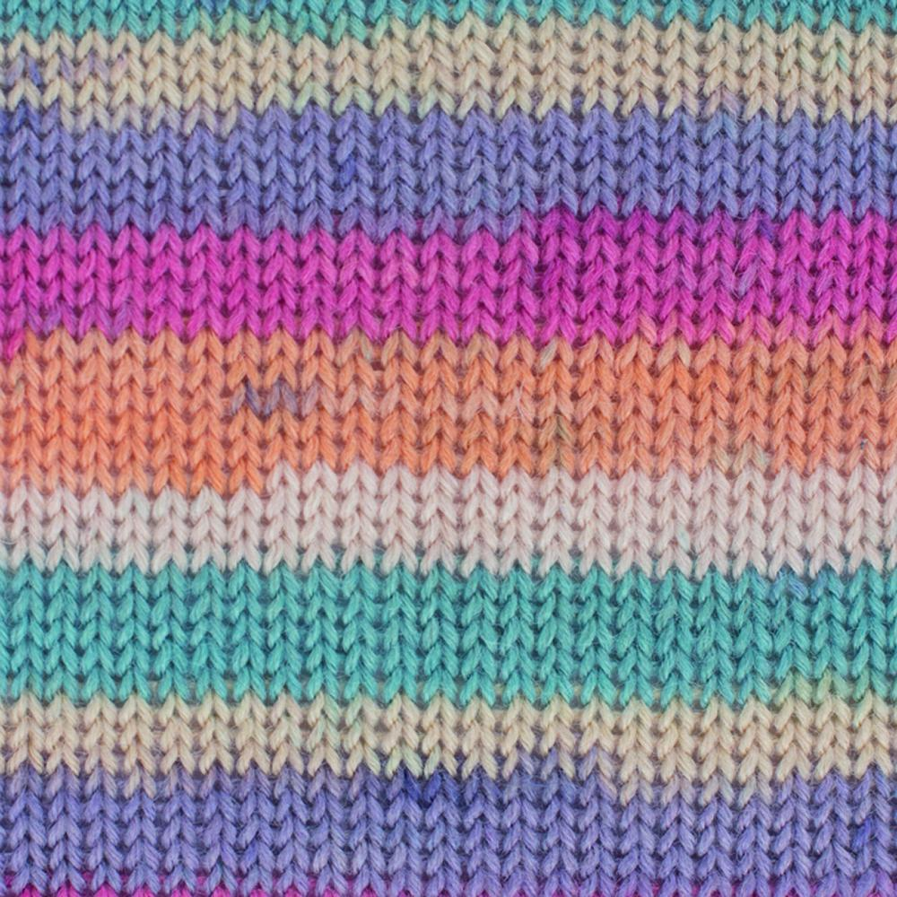 Kremke Soul Wool Edelweiss 4fach 50 Pastell Streifen
