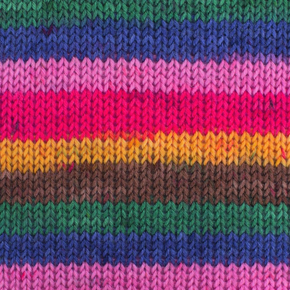 Kremke Soul Wool Edelweiss 4fach 50 Konfetti Streifen