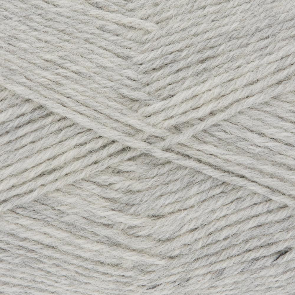 Kremke Soul Wool Edelweiss 4fach 50 Hellgrau uni