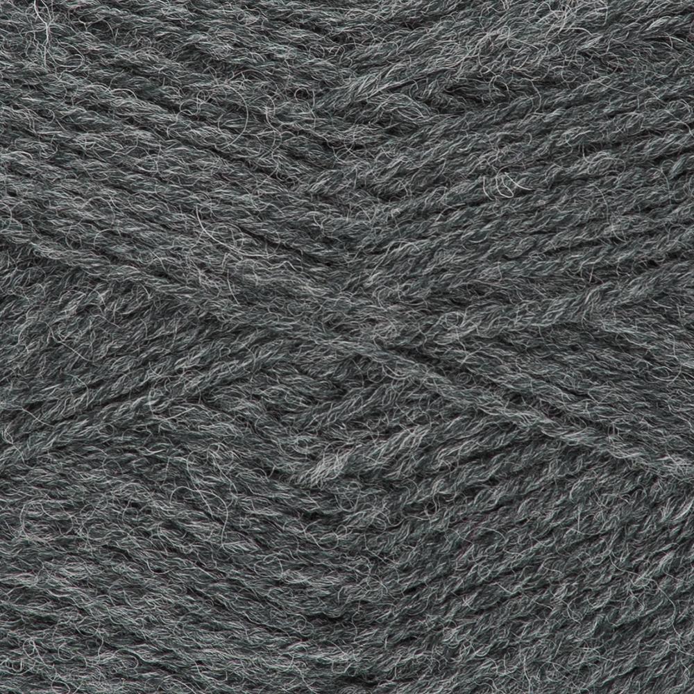 Kremke Soul Wool Edelweiss 4fach 50 Anthrazit uni