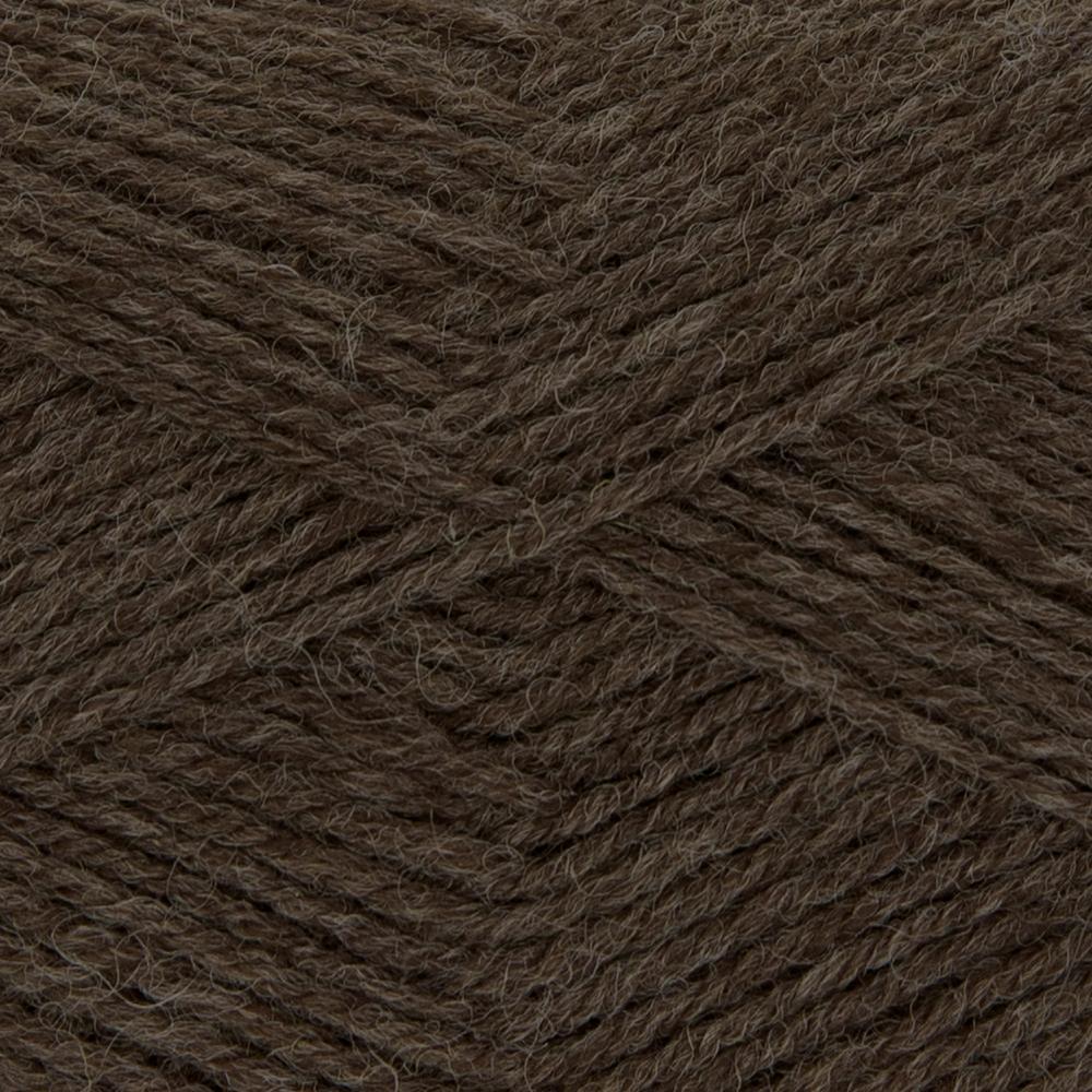 Kremke Soul Wool Edelweiss 4fach 50 Braun uni
