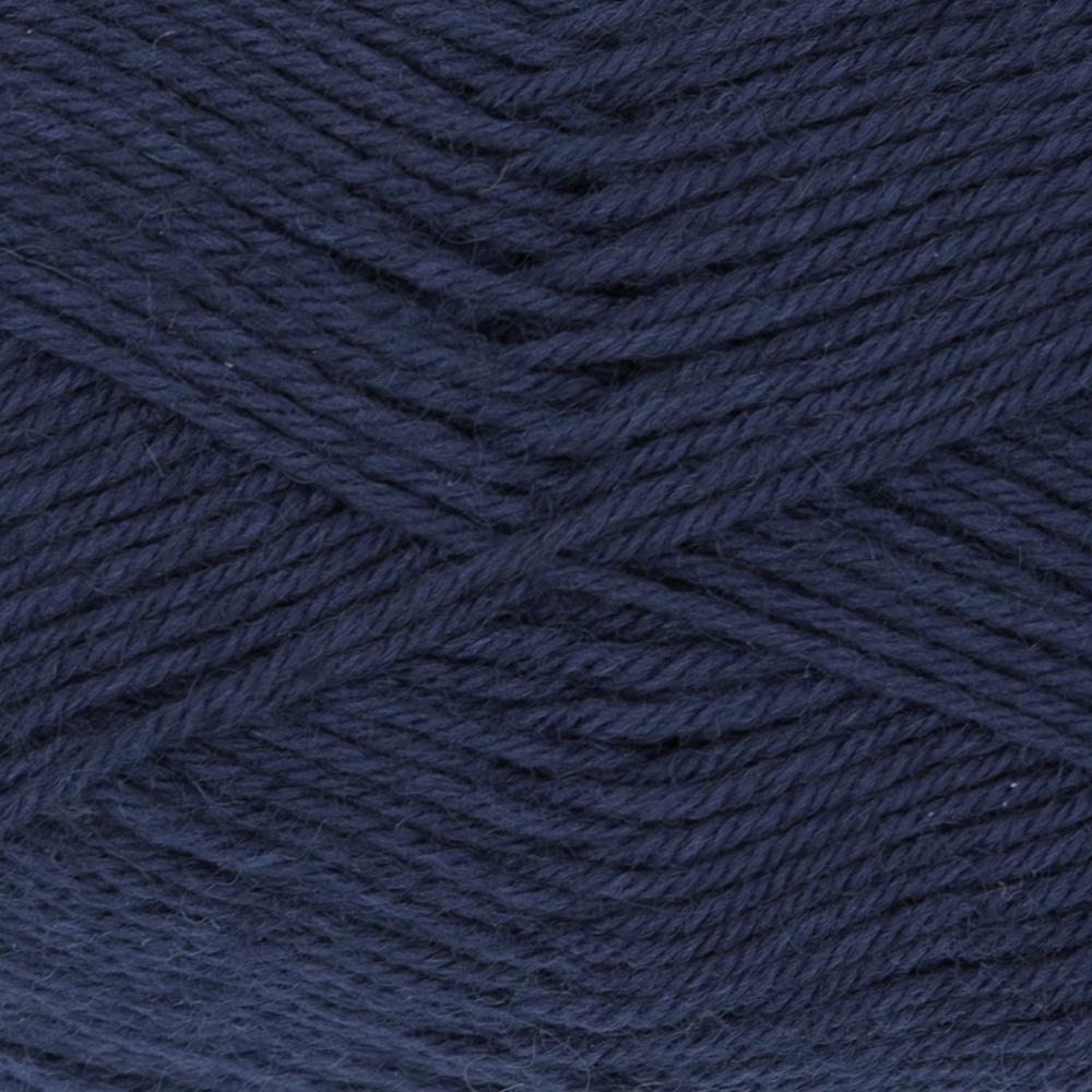 Kremke Soul Wool Edelweiss 4fach 50 Navy uni