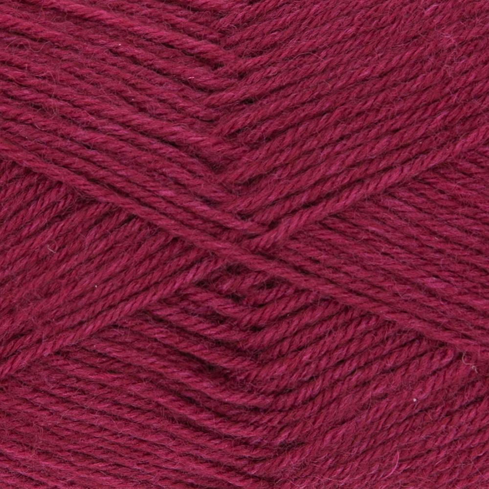 Kremke Soul Wool Edelweiss 4fach 50 Dunkelrot uni