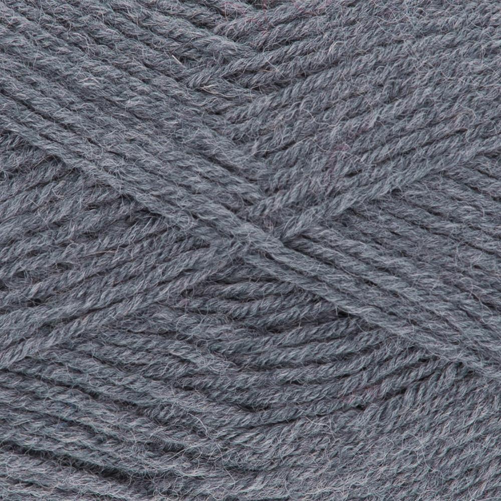 Kremke Soul Wool Edelweiss 4fach 50 Silbergrau uni