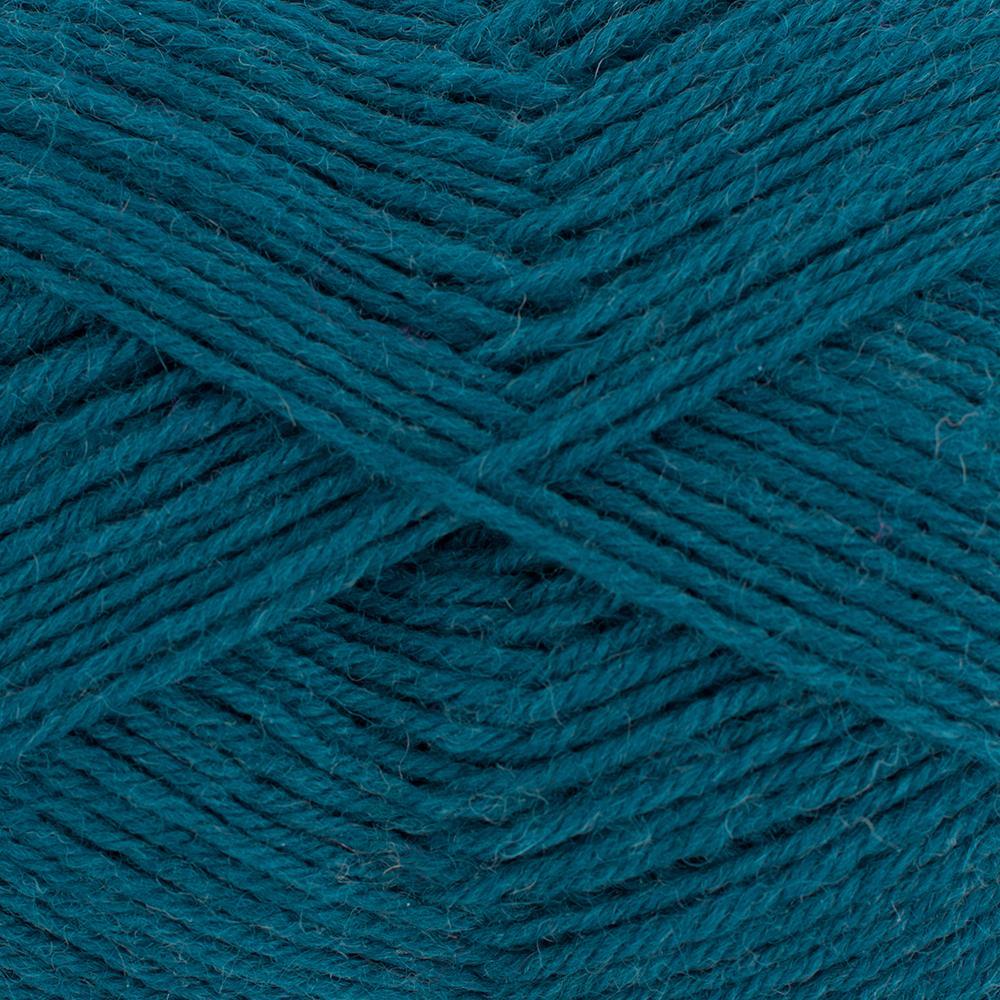 Kremke Soul Wool Edelweiss 4fach 50 Petrol uni
