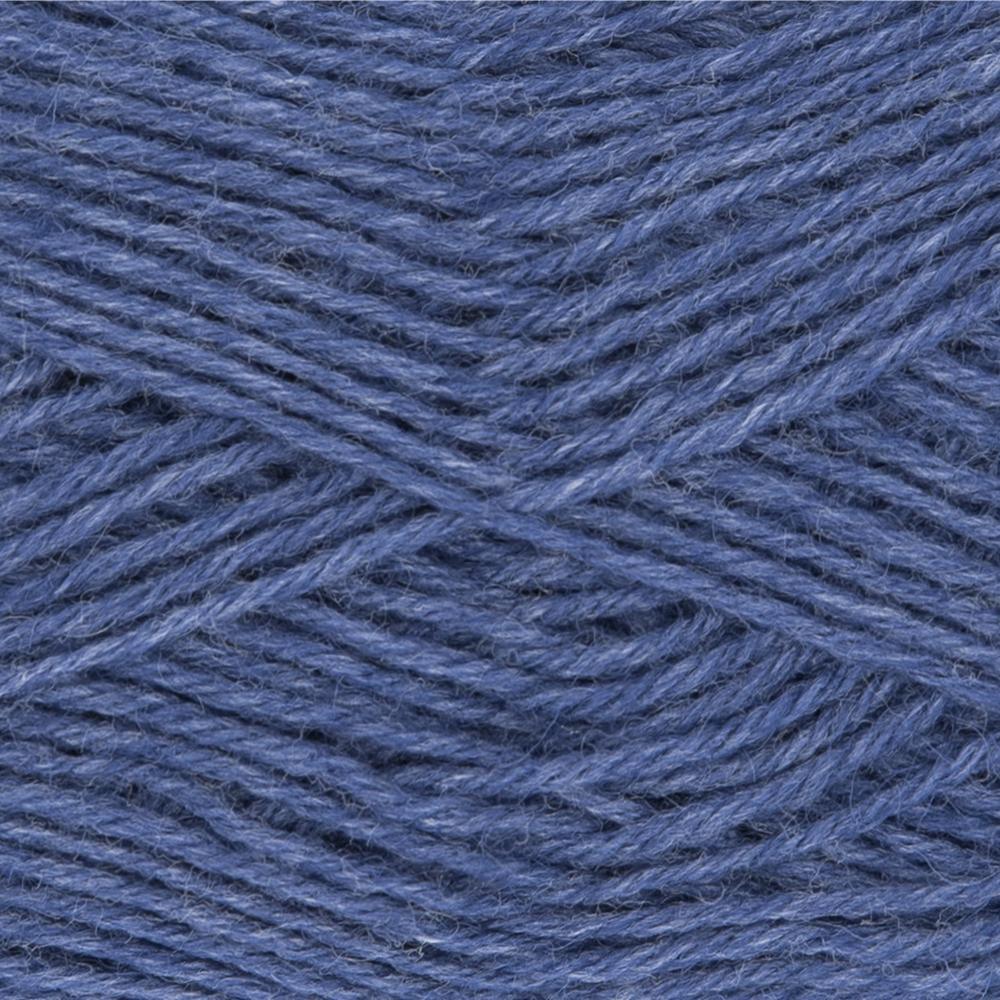 Kremke Soul Wool Edelweiss 4fach 50 Jeans uni