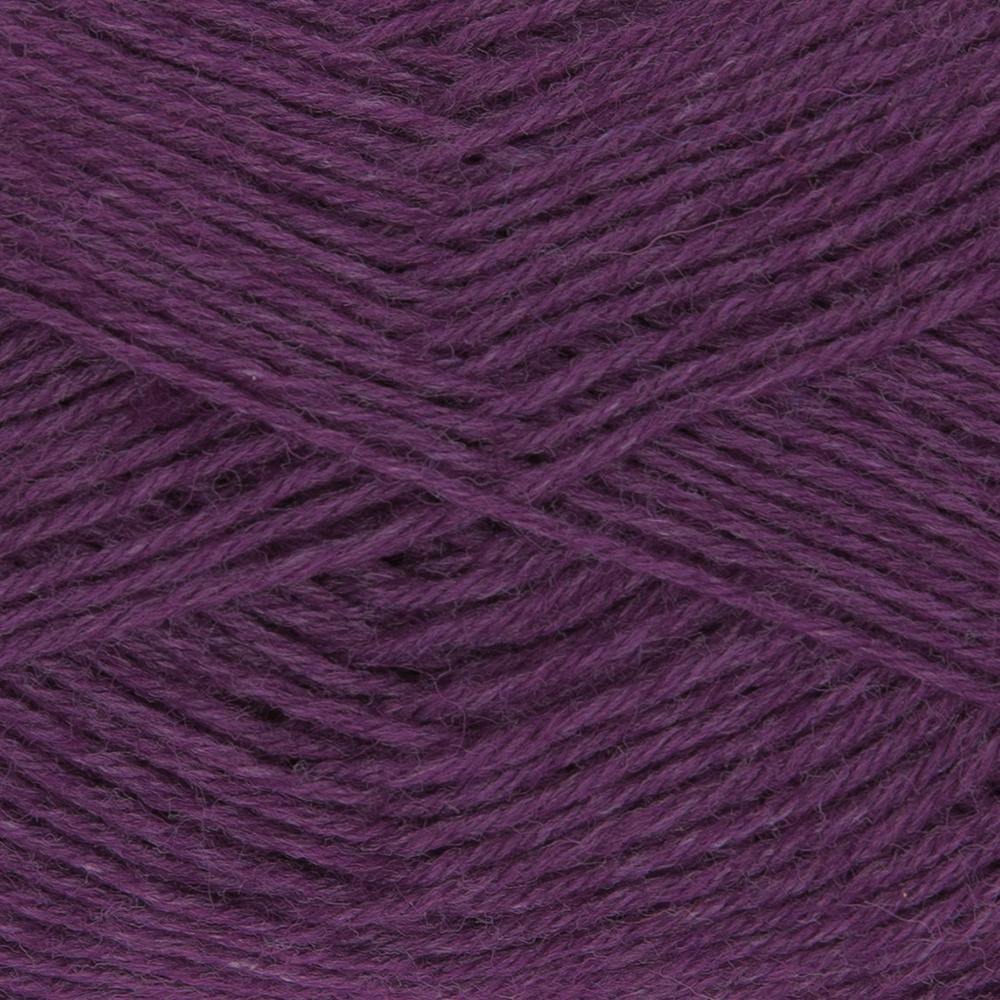 Kremke Soul Wool Edelweiss 4fach 50 Weinrot uni