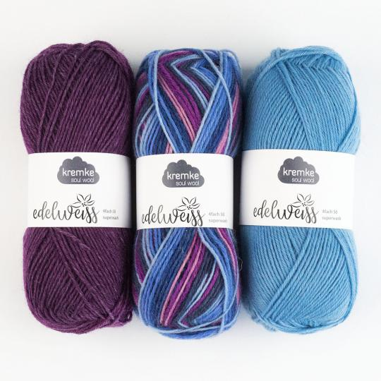 Kremke Soul Wool Edelweiss 4fach 50g
