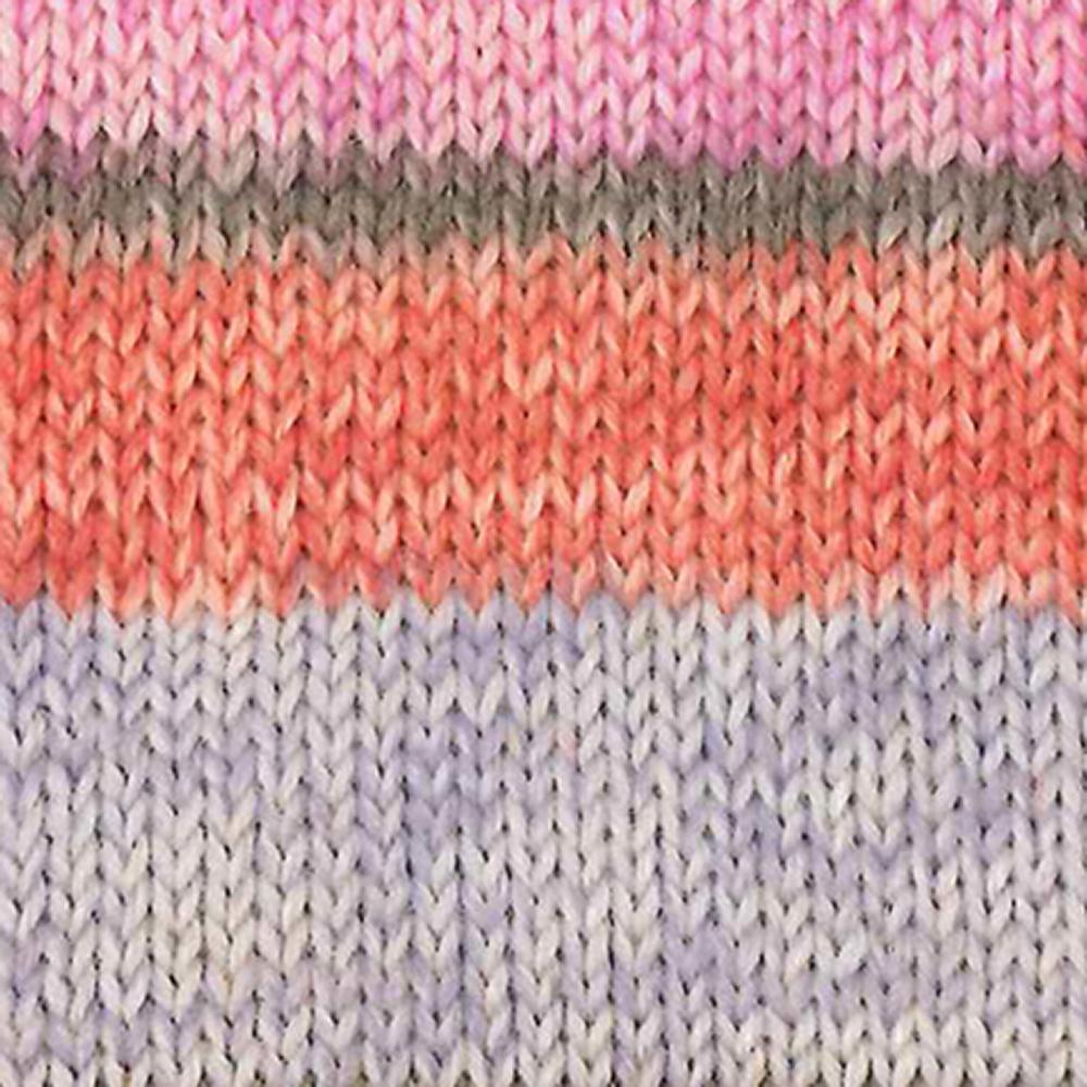 Kremke Soul Wool Edelweiss 6fach 150 Hellblau mit Orange