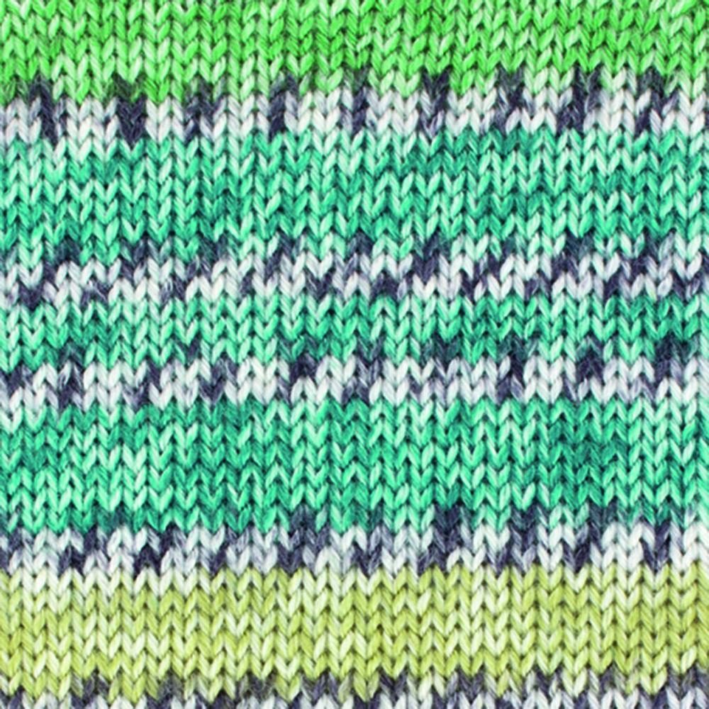 Kremke Soul Wool Edelweiss 4fach Kaschmir 50g Türkis bunt