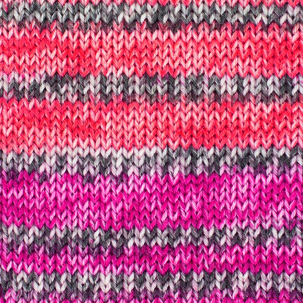 Kremke Soul Wool Edelweiss 4fach Kaschmir 50g Orange Rot bunt