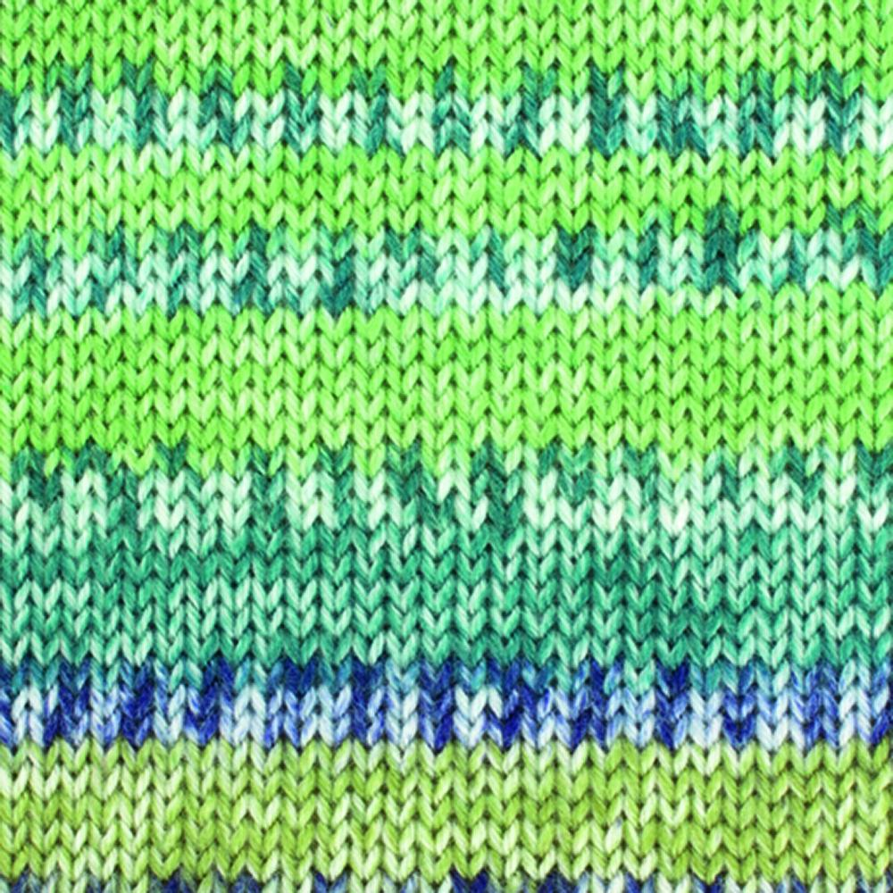 Kremke Soul Wool Edelweiss 4fach Kaschmir 50g Grün bunt