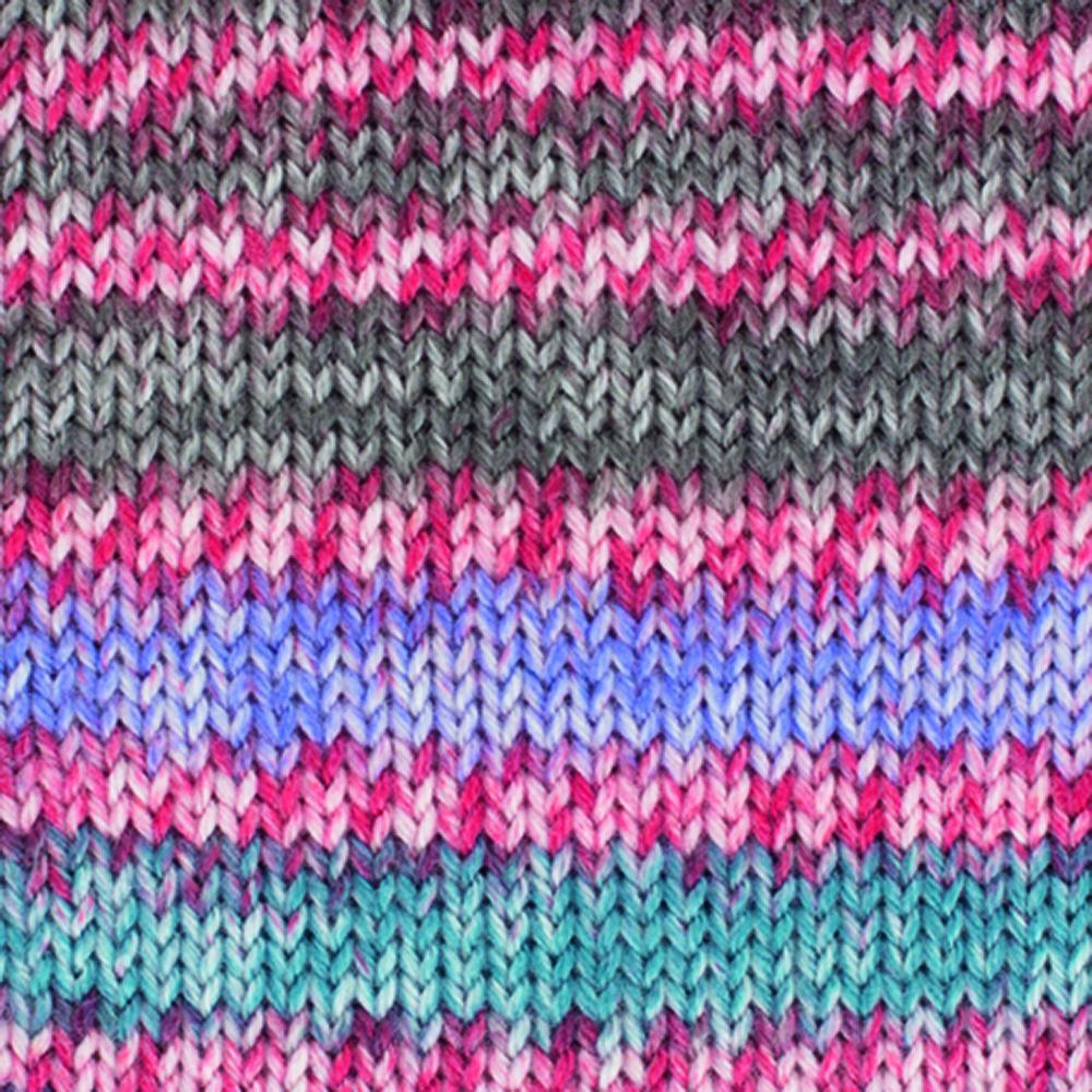 Kremke Soul Wool Edelweiss 4fach Kaschmir 50g Kirsche Braun bunt