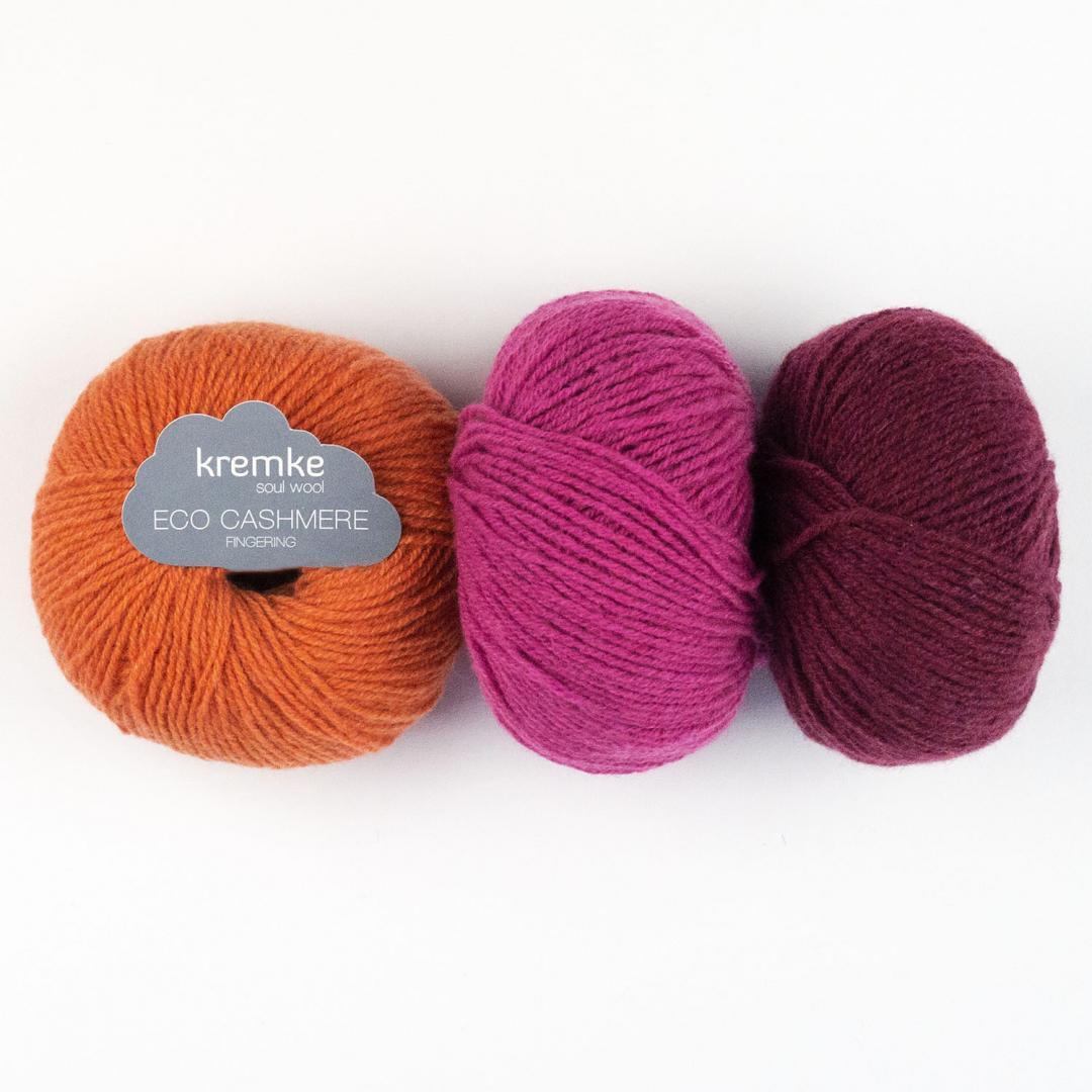 Kremke Soul Wool Eco Cashmere Fingering  Natur