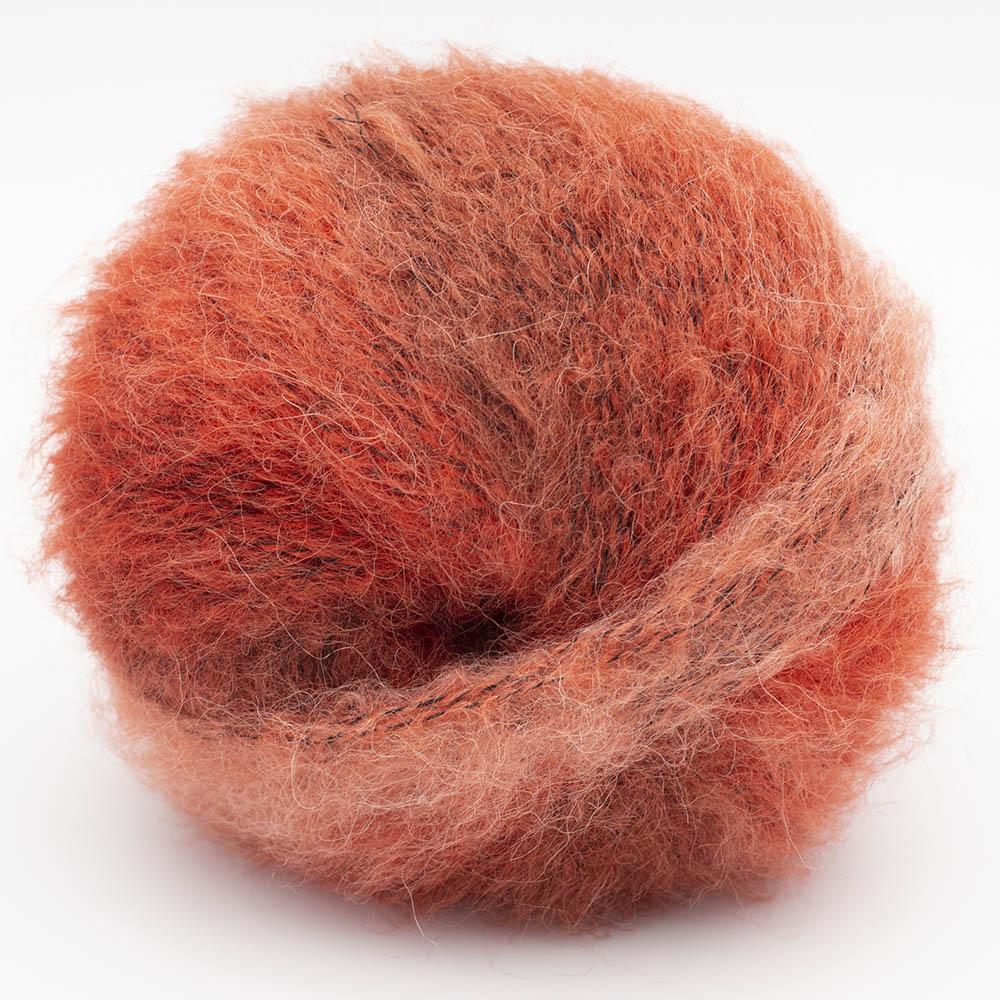 Kremke Soul Wool Baby Silk Fluffy Farbverlauf Rostrot