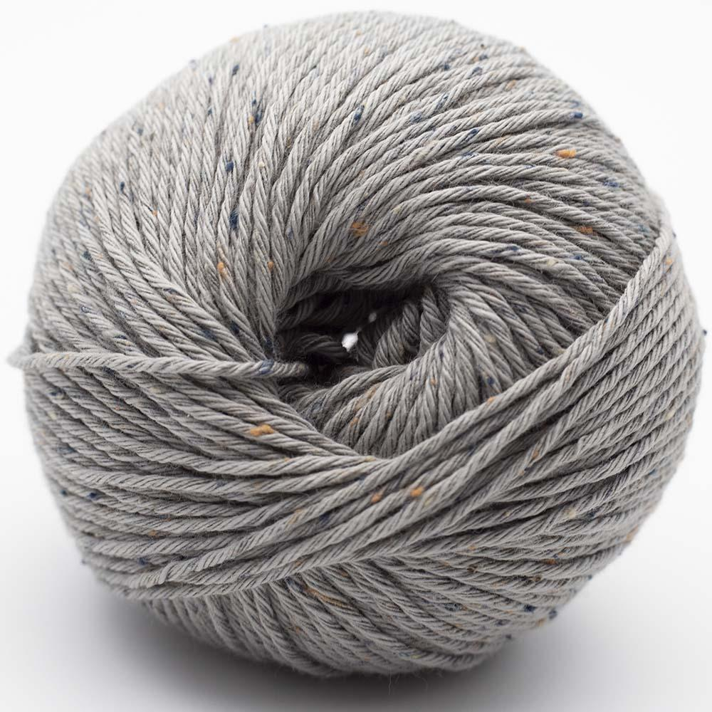 Erika Knight Gossypium Cotton TWEED Hellgrau