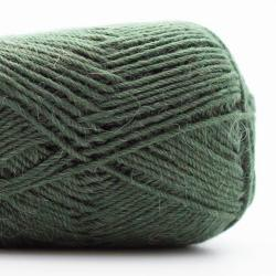 Kremke Soul Wool Edelweiss Alpaka 4-fach 25g Käfer-Grün