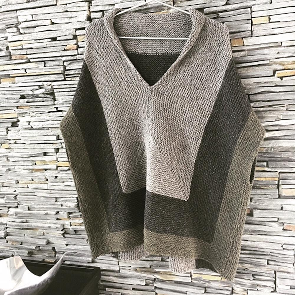 BC Garn Garnpaket Oversize Pullover Melange GOTS