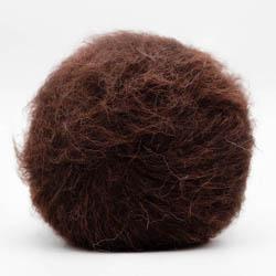 Kremke Soul Wool Baby Silk Fluffy Solid Chocolate
