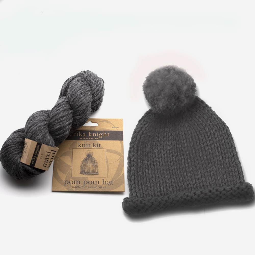 Erika Knight Kit Pompom Hat ENG