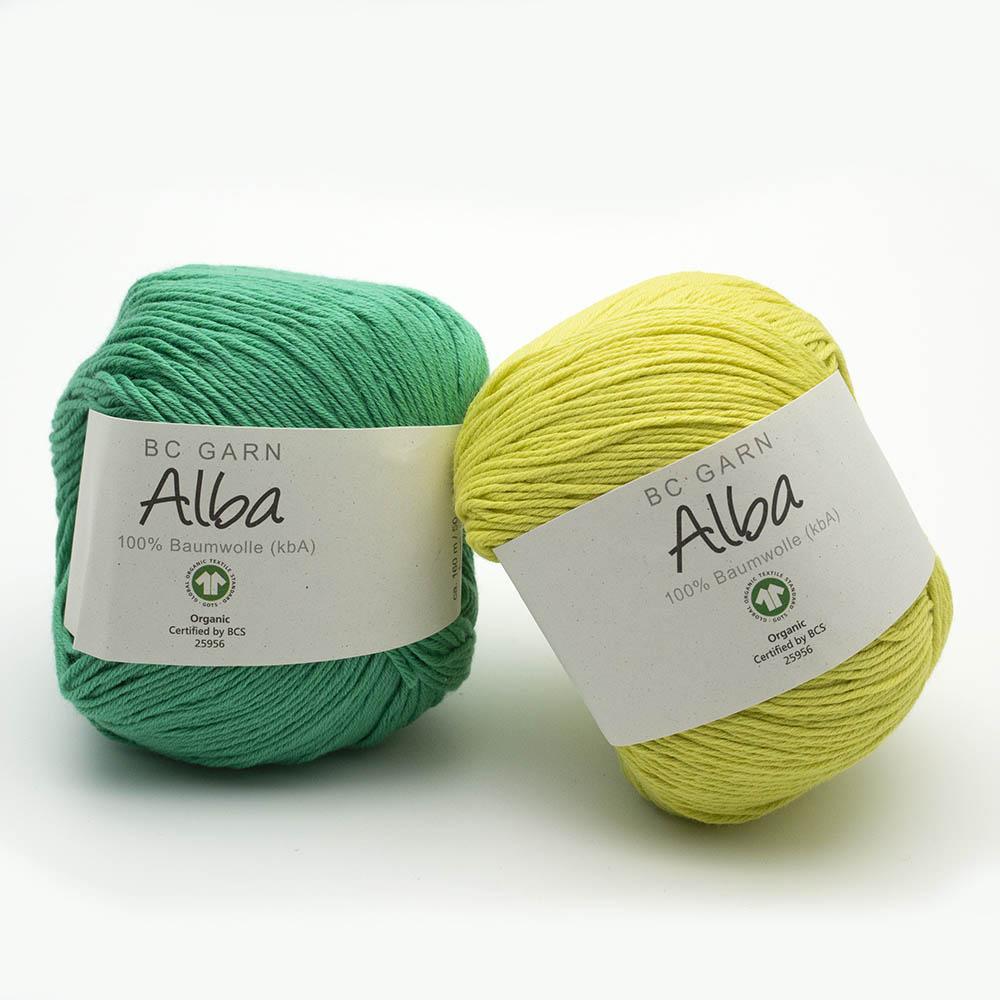 BC Garn Alba GOTS Auslauffarben  maigrün
