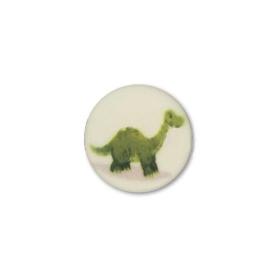 Jim Knopf Kunststoffknopf Dino 16mm