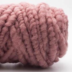 Kremke Soul Wool RUGby Teppichwolle gefärbt Altrosa