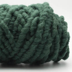 Kremke Soul Wool RUGby Teppichwolle gefärbt Tiefdunkelgrün