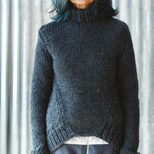 Pattern TUESDAY for Maxi Wool EK0010