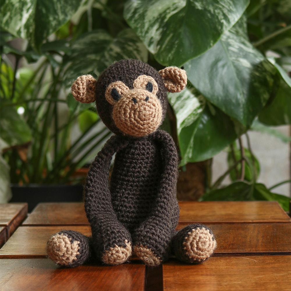 TOFT Benedikt der Schimpanse Häkelset Benedikt Chimpanzee