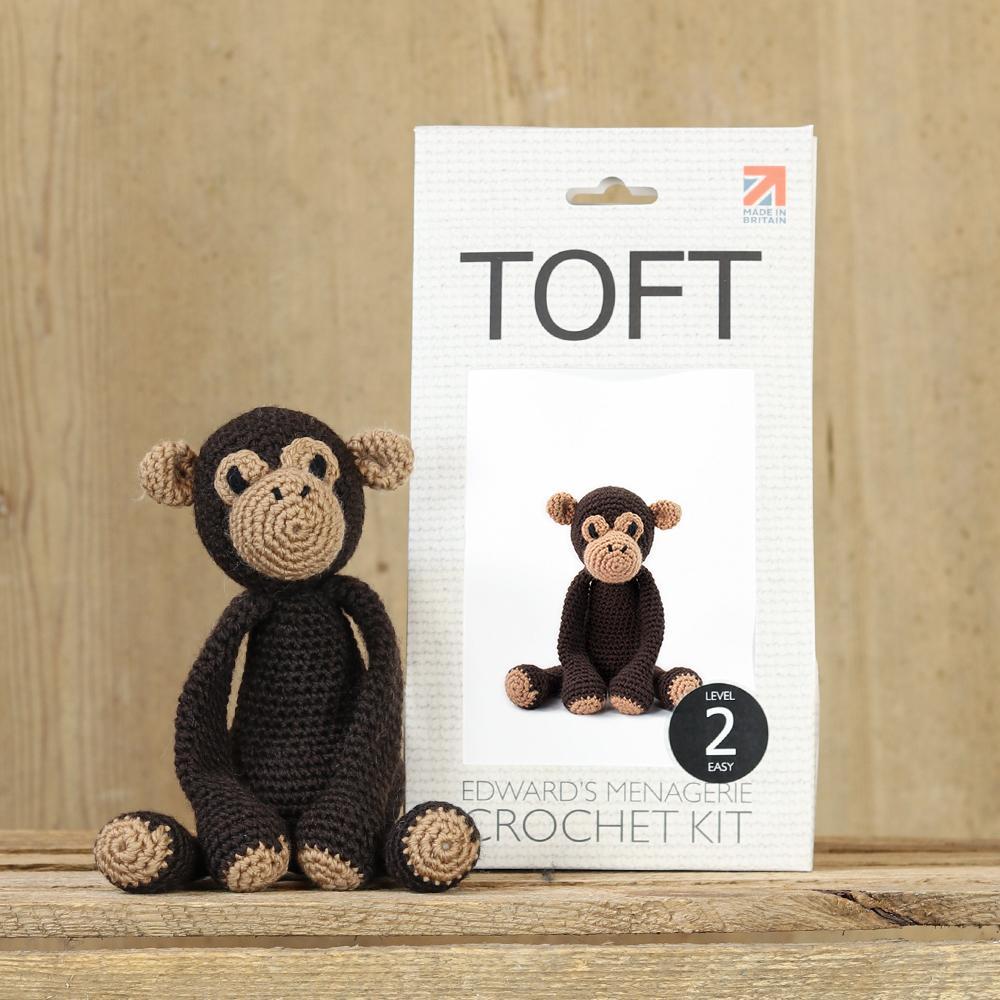 TOFT Benedikt der Schimpanse Häkelset