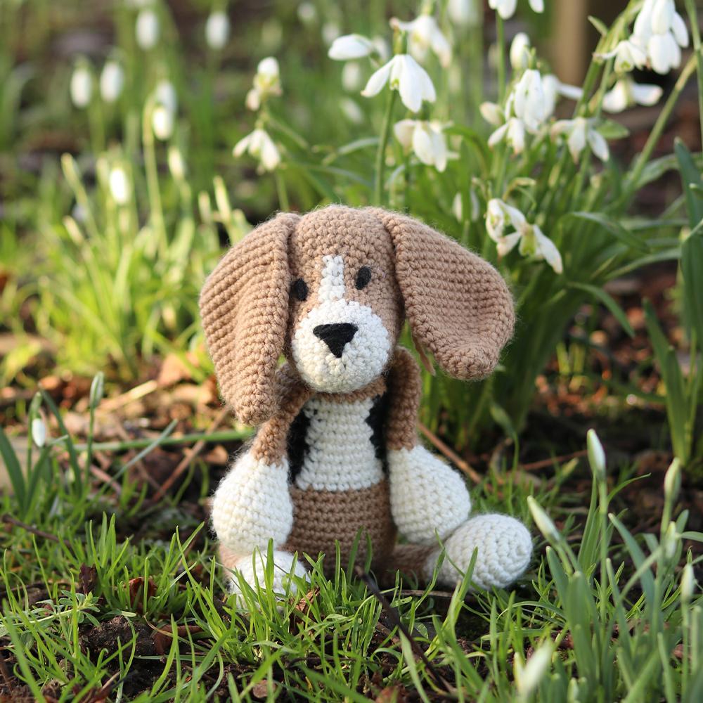 TOFT Lola der Beagle Häkelset Lola Beagle