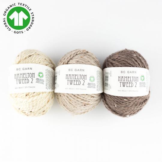 Hamelton Tweed 2 GOTS new